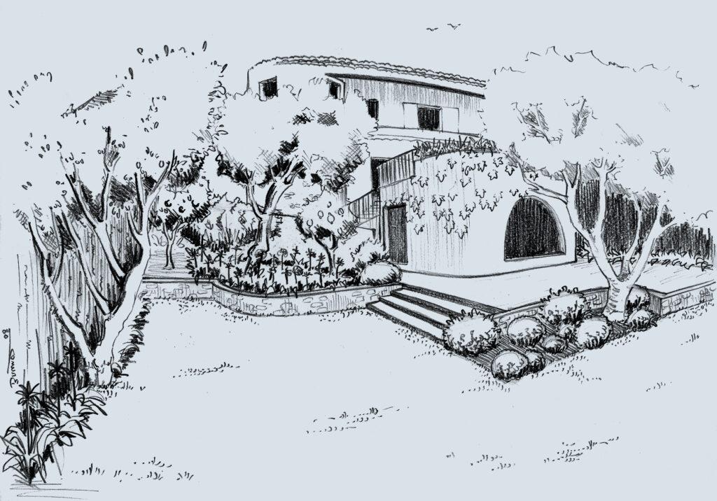 Martin Martin paysages - dessin jardin