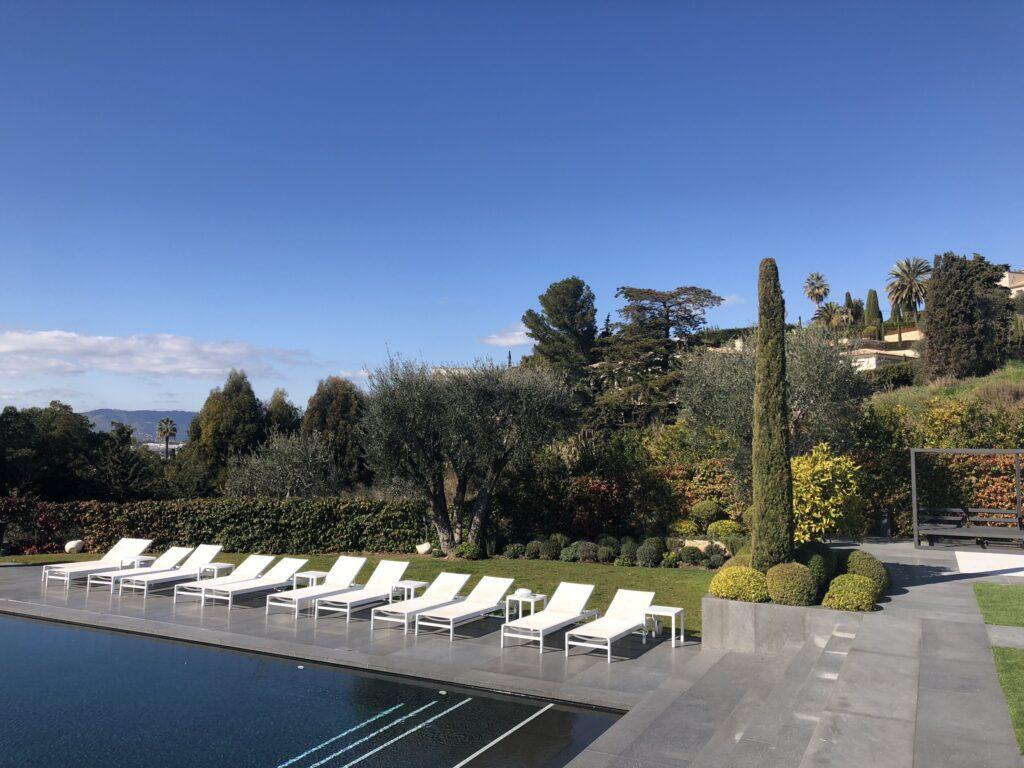 Martin Martin paysages - jardin contemporain avec piscine