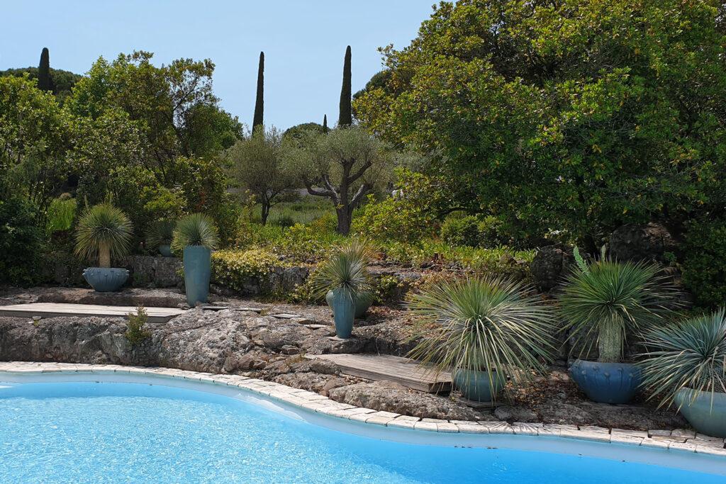 Martin Martin paysages - jardin végétal avec piscine