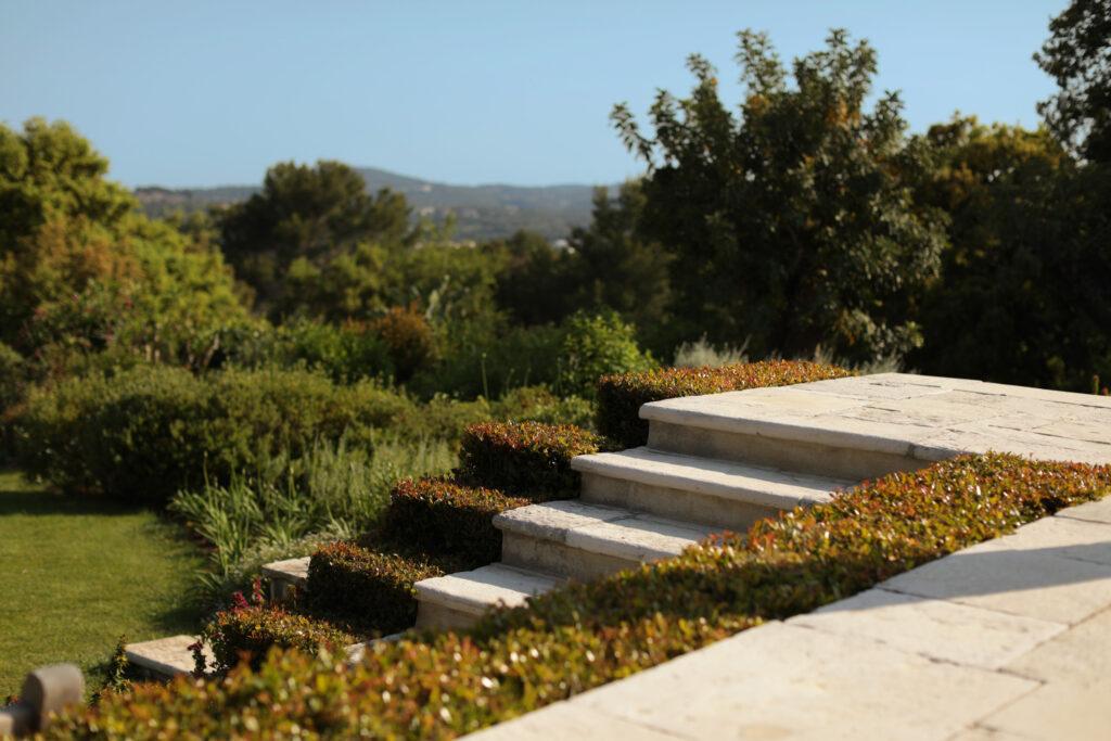 Martin Martin paysages - jardin provençal - jardin marche