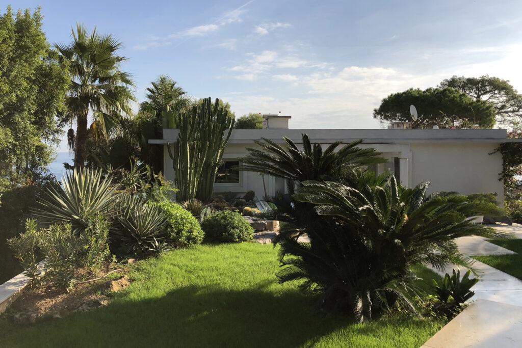 Martin Martin paysages - jardin avec maison contemporaine